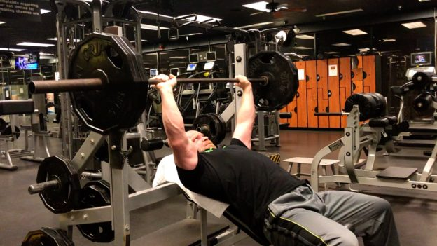 workout to boost testosterone incline bench press